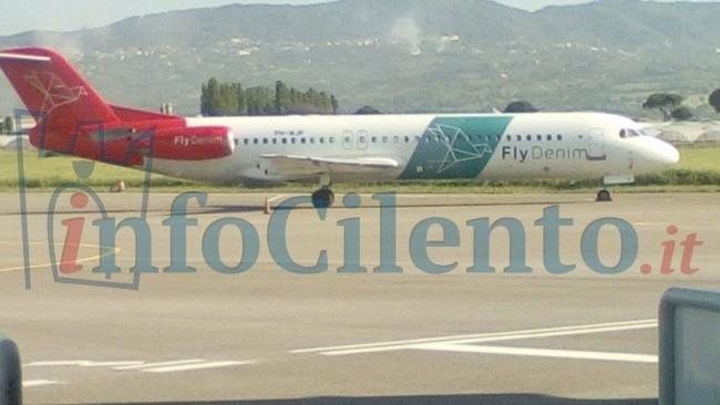 Aeroporto di Salerno, si vola! Ecco il primo aereo in partenza dallo scalo