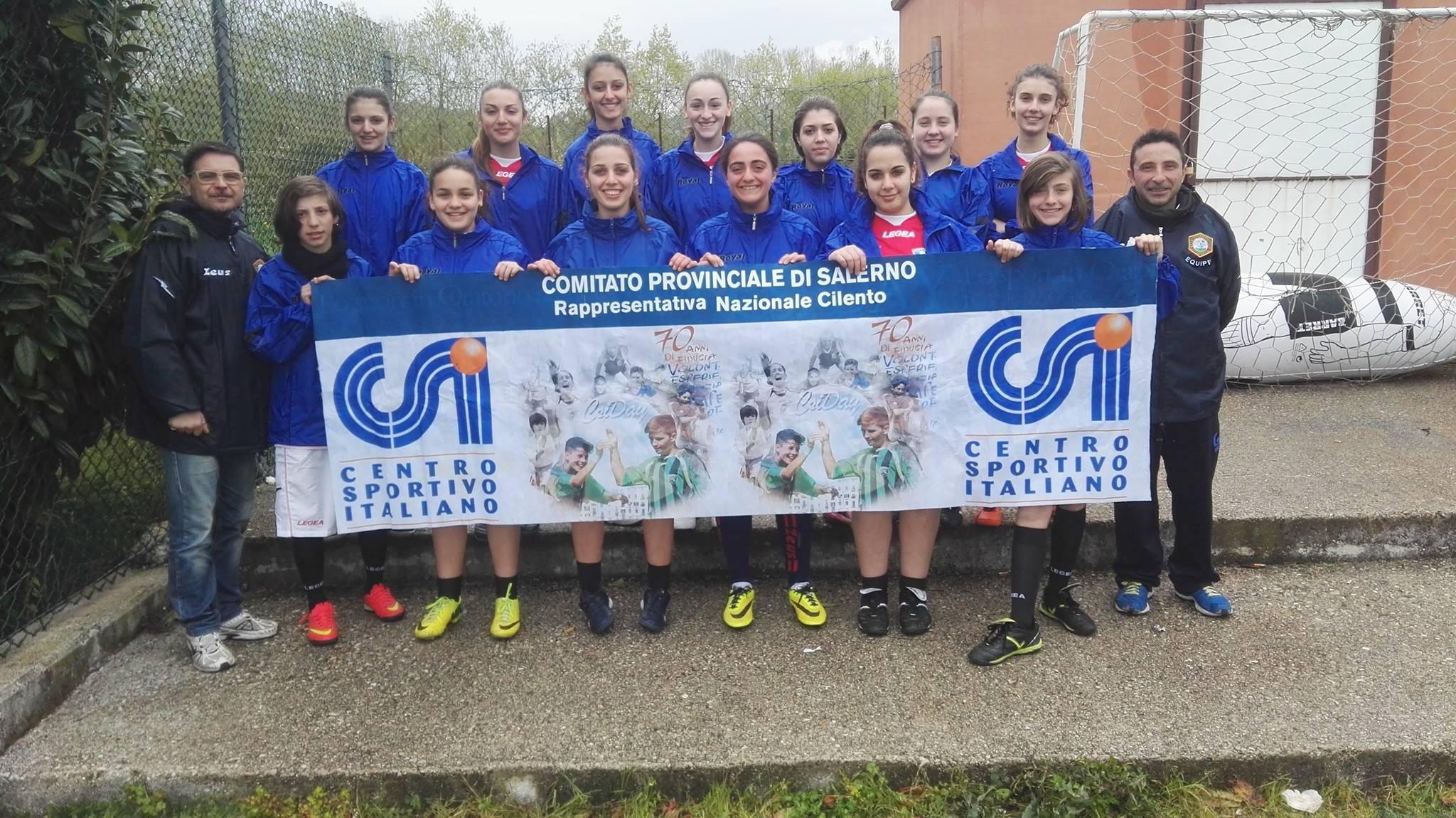 Terminato il campionato di calcio a 5 femminile, fase finale ad Agropoli