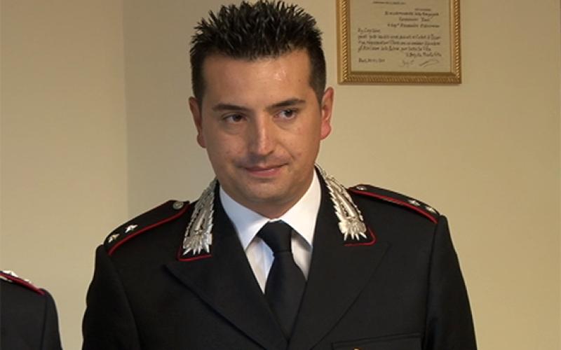 Agropoli, promosso il comandante della compagnia carabinieri
