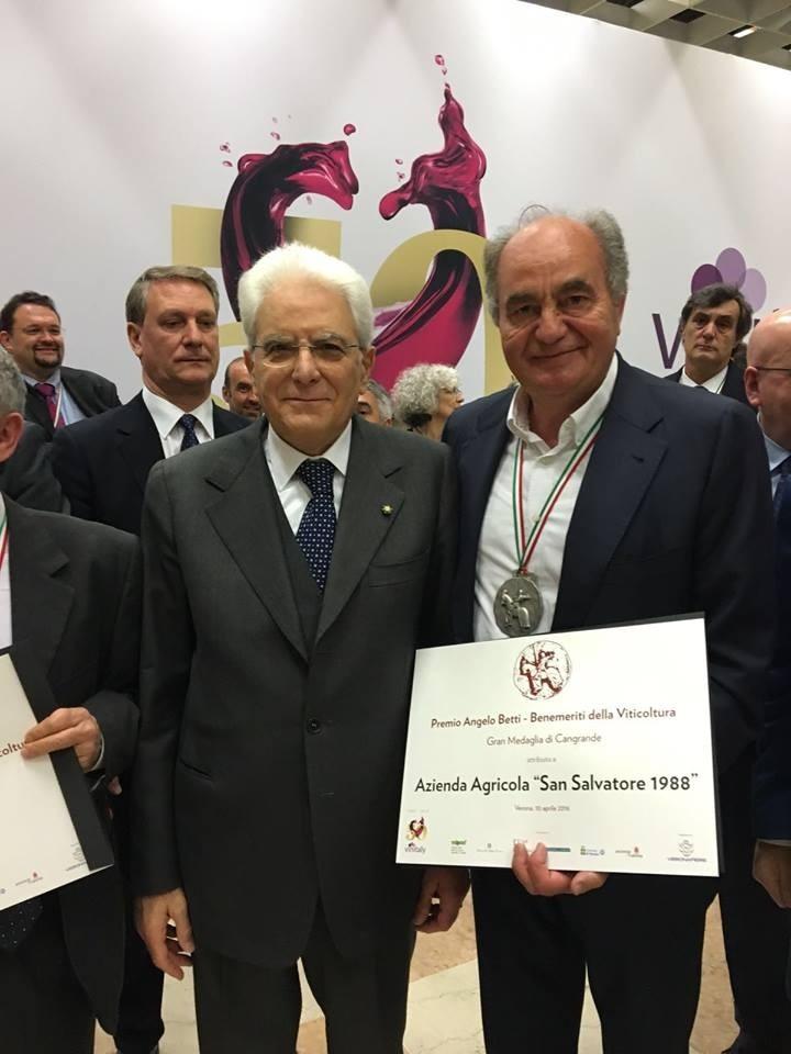 Azienda capaccese premiata al Vinitaly. Voza: notizia ci riempie d'orgoglio