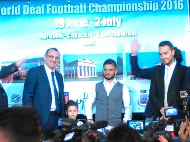 Anche Agropoli sarà protagonista a giugno  del campionato mondiale di calcio per sordomuti