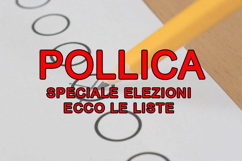 SPECIALE ELEZIONI. Ecco liste e candidati di POLLICA