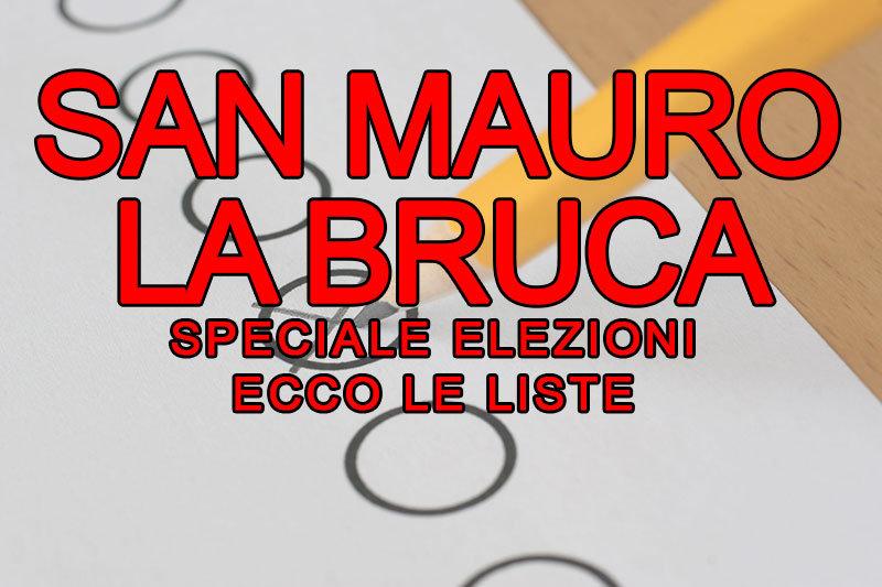 SPECIALE ELEZIONI. Ecco liste e candidati a SAN MAURO LA BRUCA