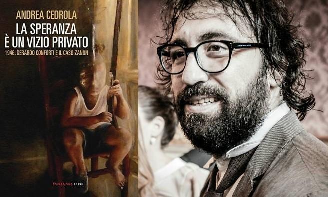 Nelle librerie il nuovo libro dello scrittore agropolese Andrea Cedrola