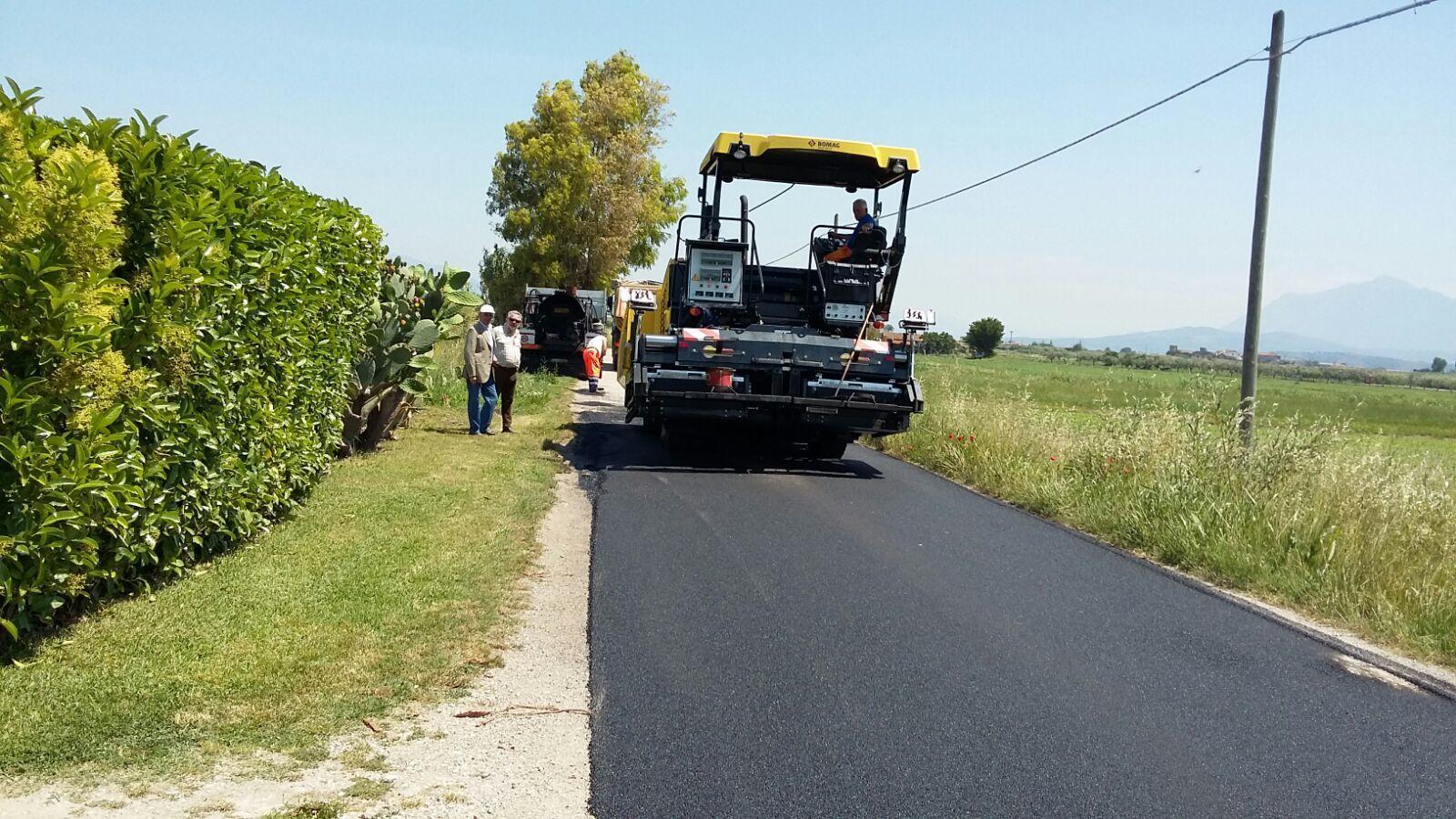 Capaccio, al via i lavori di ripristino del manto stradale sul territorio