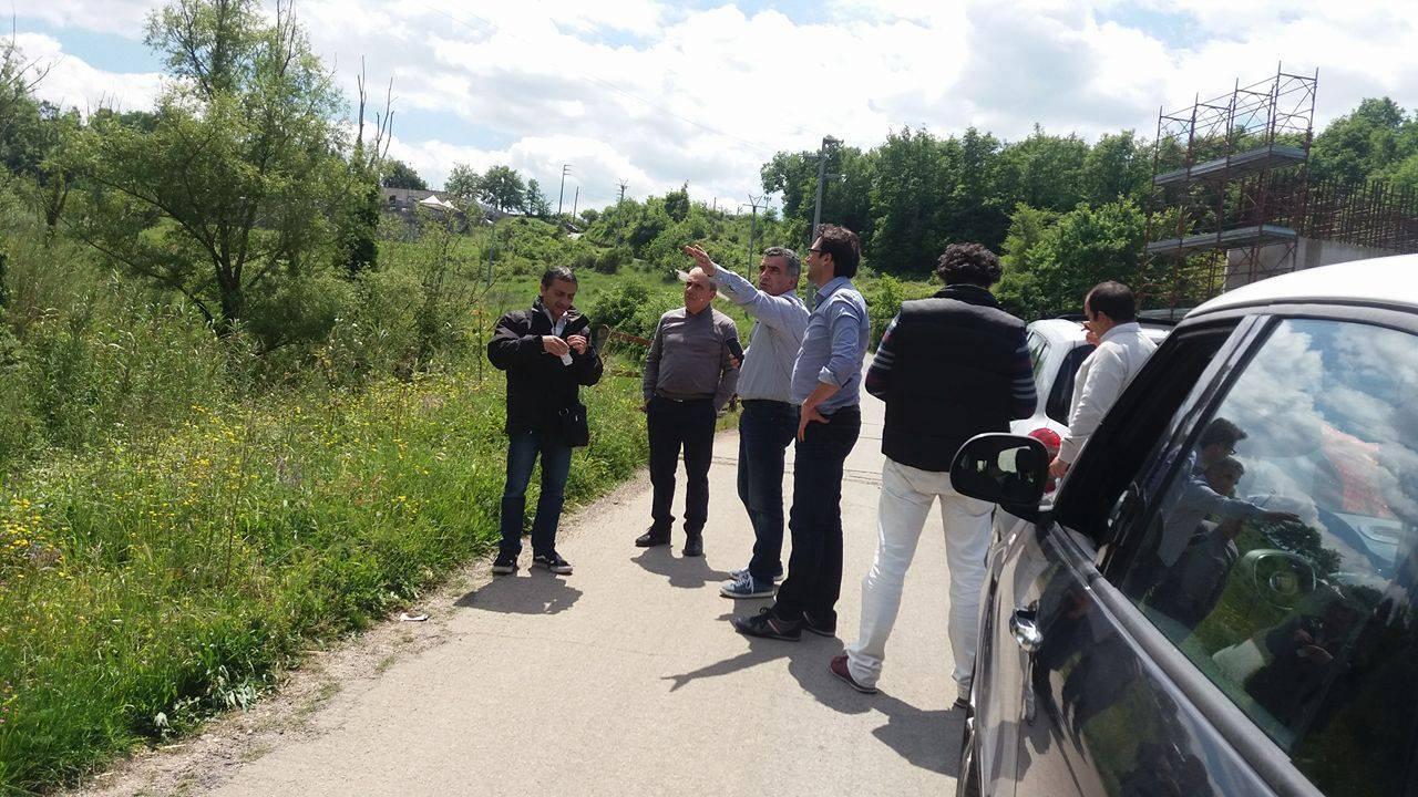 Sopralluogo sulla Fondovalle Calore, Cammarano (M5S) annuncia un'interrogazione