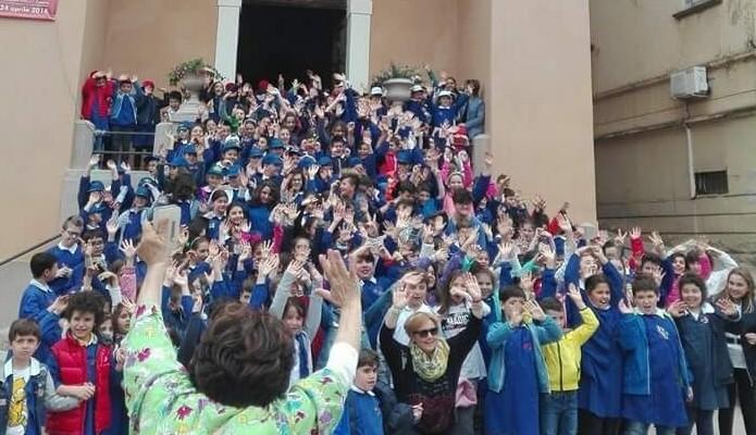 Maggio dei Libri, successo per le attività della scuola Pinto con La Casa di AnnaLaura