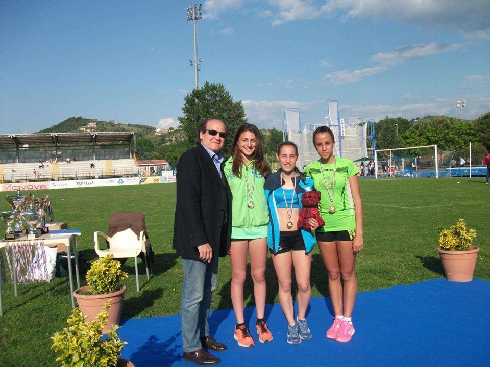 Atletica, campionati di società: la Agropoli Running sugli scudi