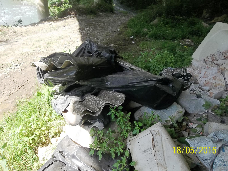 Cilento: amianto in area protetta. La denuncia del WWF