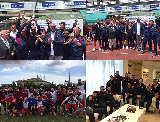 Lanciano: la Banca Monte Pruno Campione al Torneo del Credito Cooperativo