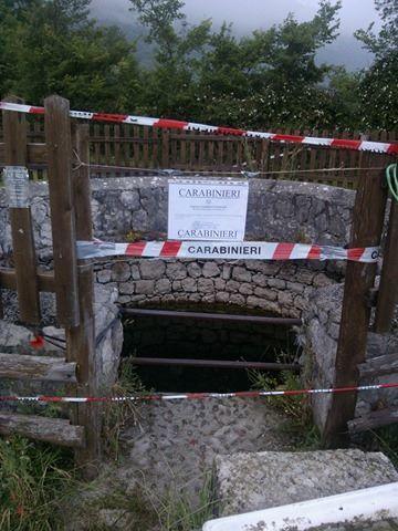 Sotto sequestro il pozzo dove venne ritrovato un cadavere