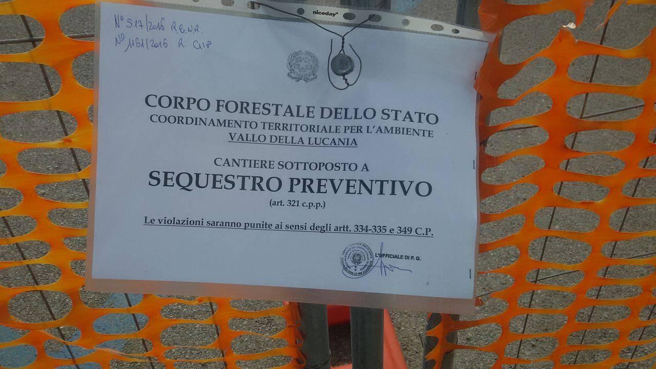 Castellabate, Spinelli: «Il sequestro mi lascia sorpreso»