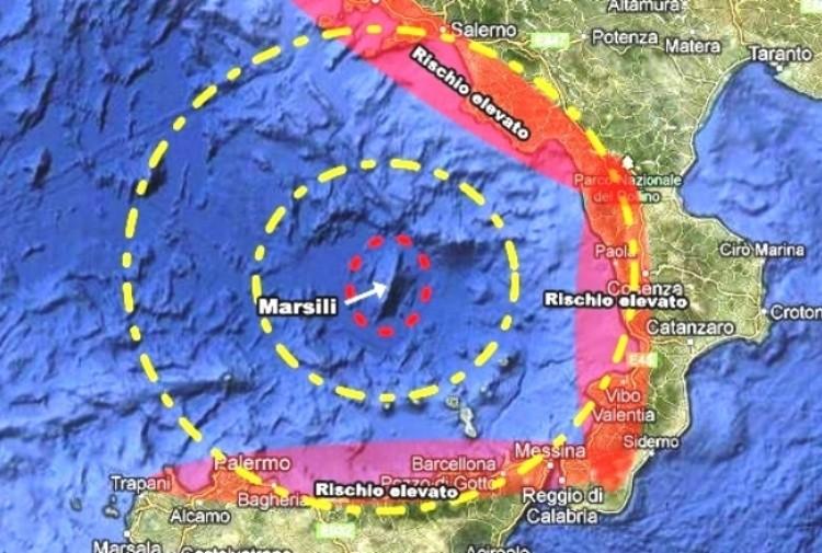 Terremoto, scossa di magnitudo 5.7 a largo del Tirreno