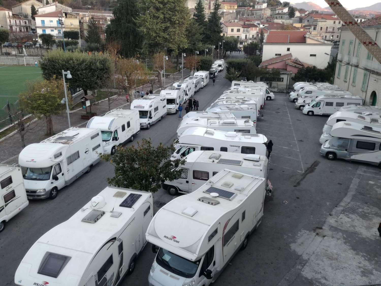 Photo of Alburni meta di camperisti: 140 persone in visita sul territorio