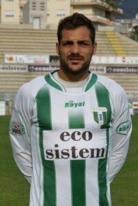 Fabio De Luca, classe '81: centravanti dell'AZ Picerno