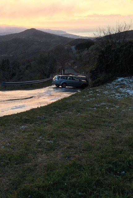 Omignano - Incidente