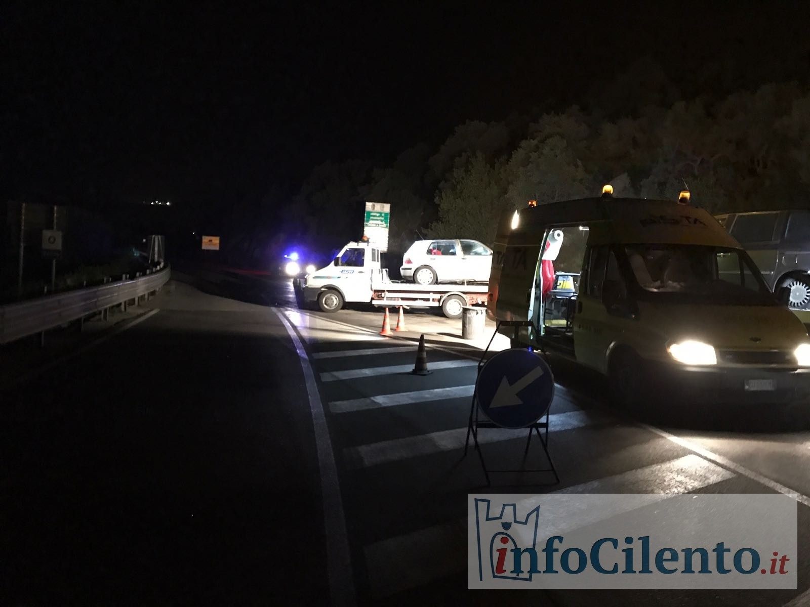 Incidente mortale a Buccino, morti padre e bimbo di 3 anni