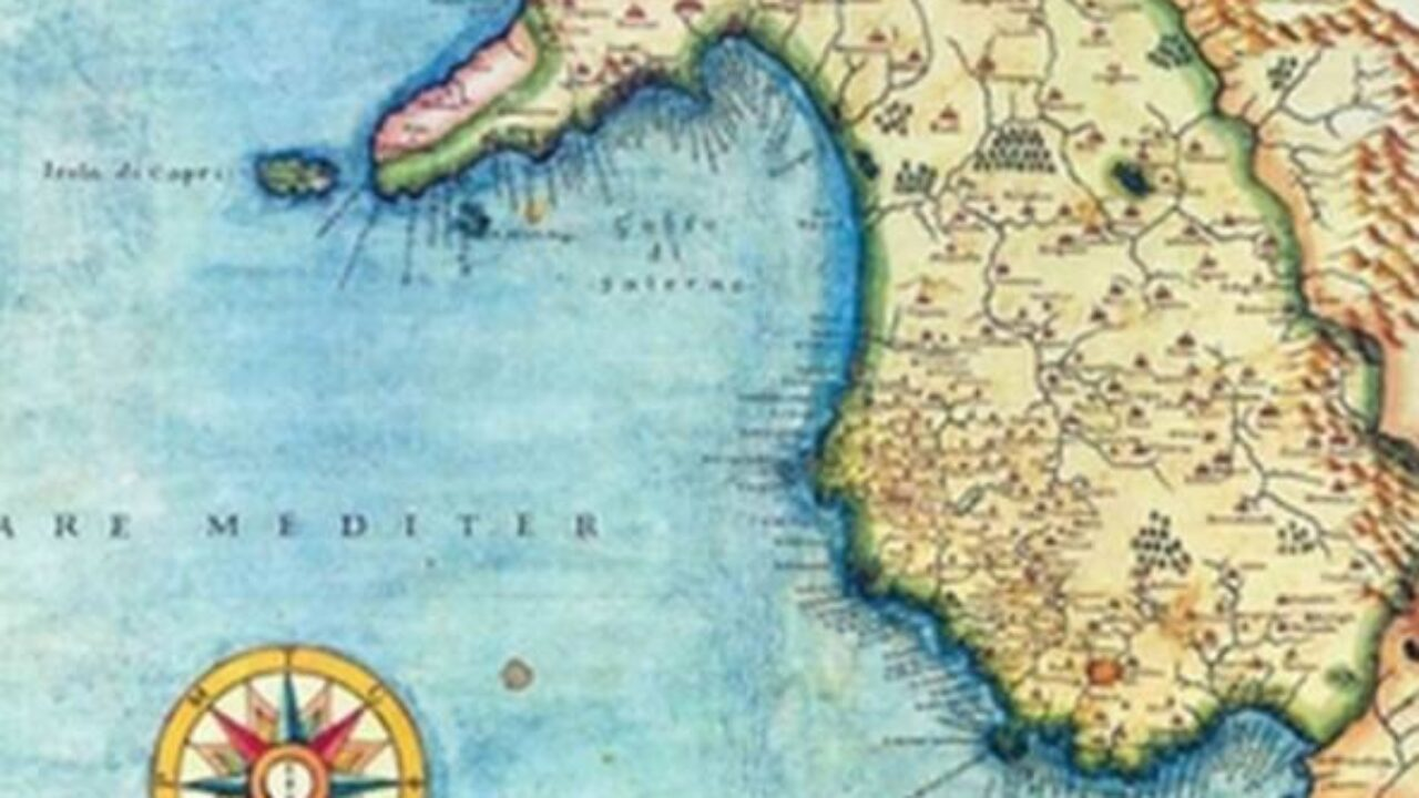 Cilento Cartina Geografica.Gli Uomini La Terra I Paesi Del Cilento In Un Reportage Di Fine 800 Info Cilento