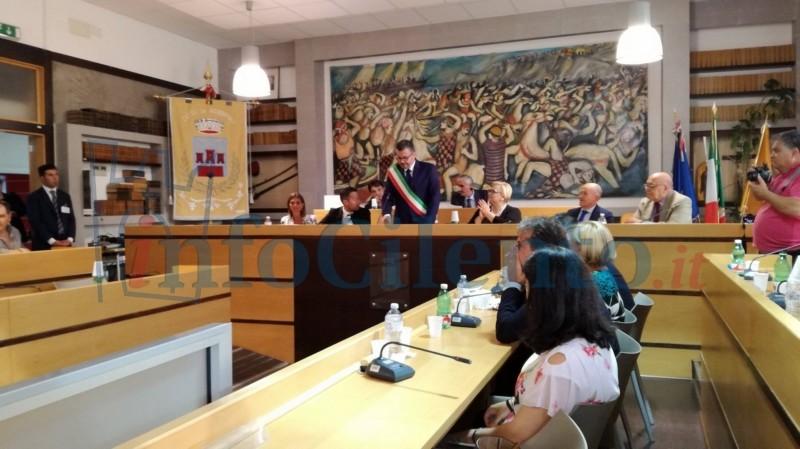 Agropoli, oggi il consiglio comunale discute l'incompatibilità di Di Nardo