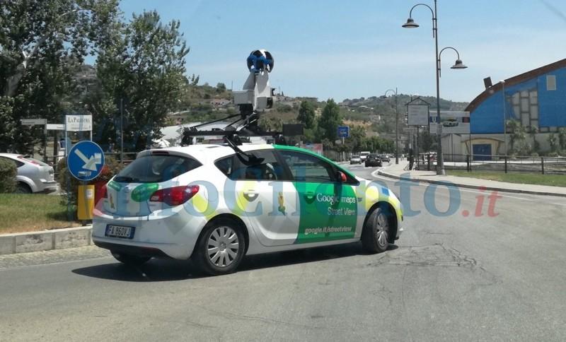 La Google Car è tornata nel Cilento