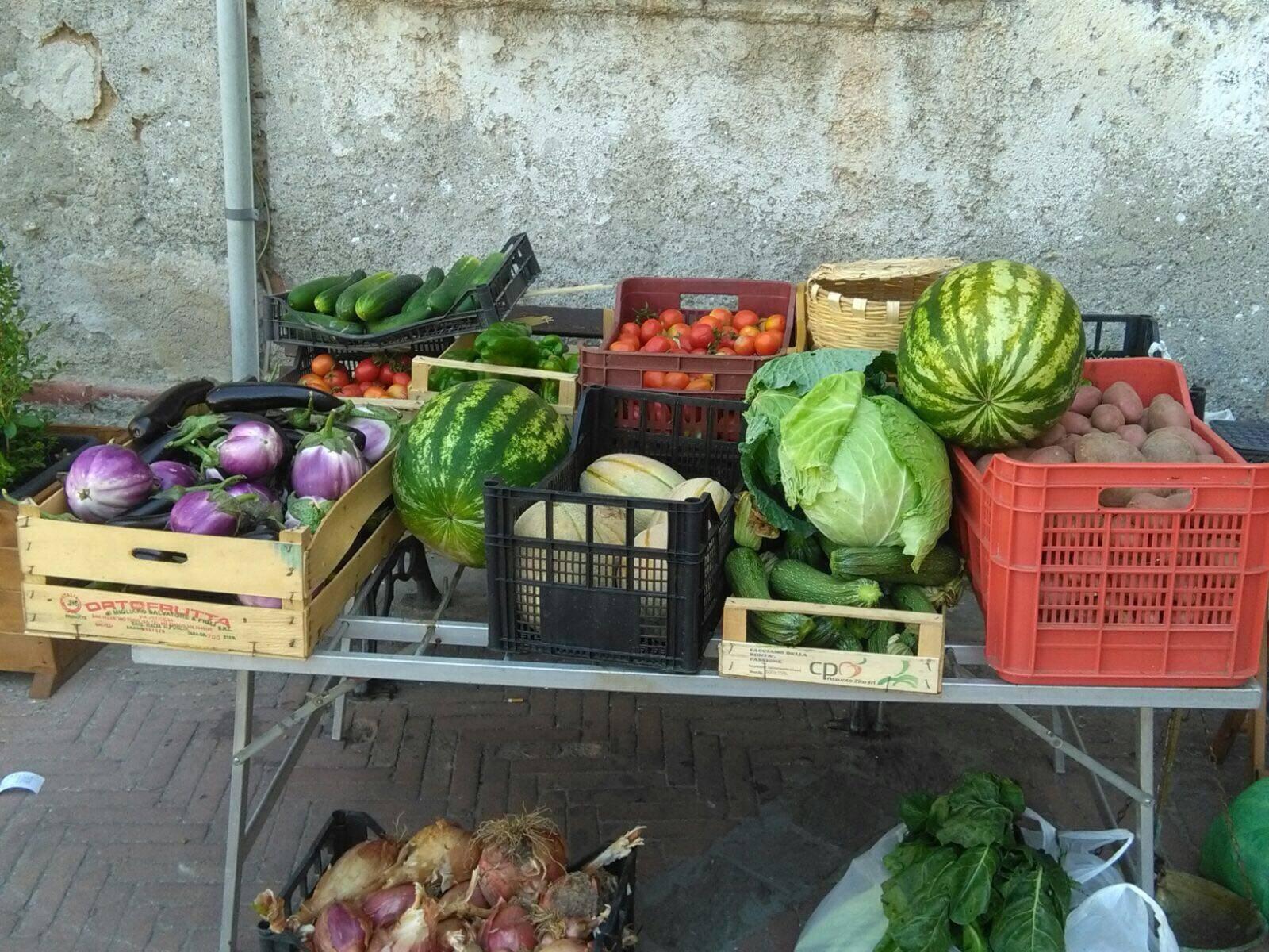 Photo of A Vallo della Lucania il mercato contadino del Cilento