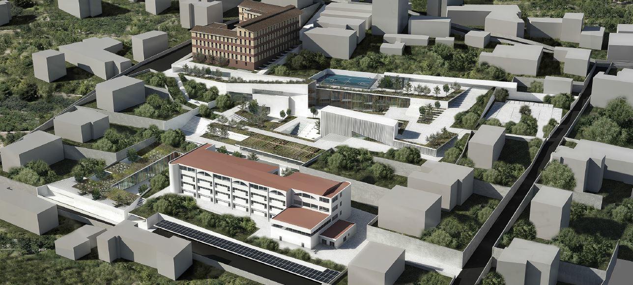 Sala consilina ecco come sar il campus scolastico for Progetti di piantagione