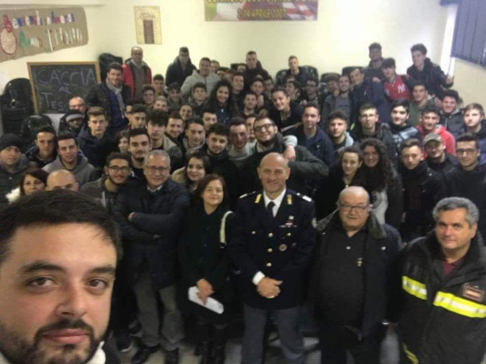 """Photo of Sala Consilina: gli studenti dell'ITG """"De Petrinis"""" a lezione di sicurezza stradale"""