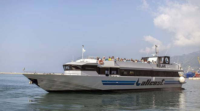 Sapri-Eolie, dall' 8 luglio le corse via mare di Alicost.