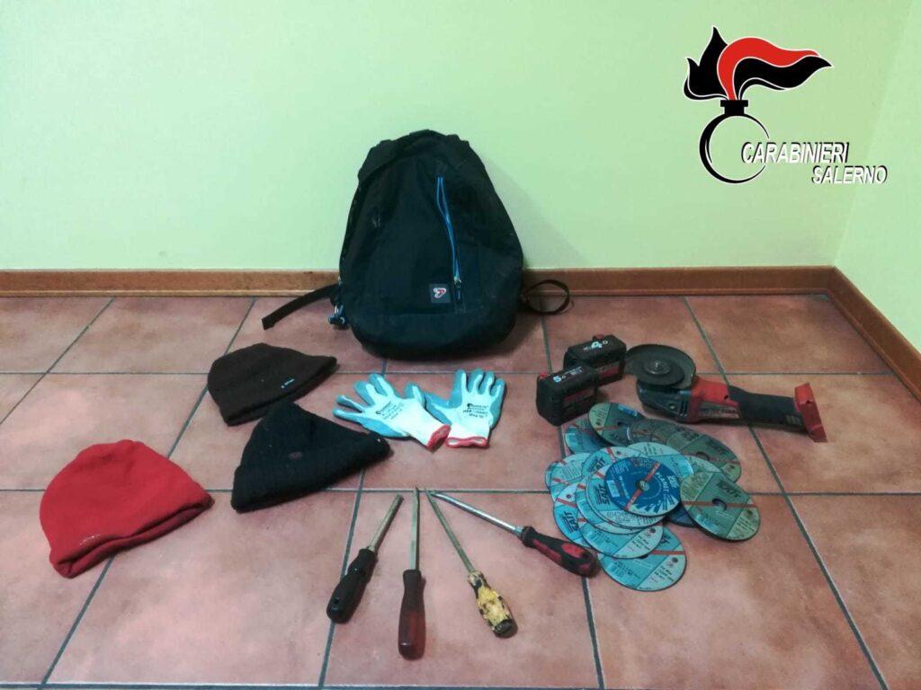 Sala, arrestata banda di ladri napoletani. Sono stati bloccati dopo un tentato furto a Lauria.