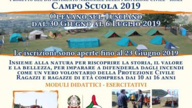 Photo of Olevano sul Tusciano: Campo scuola della Protezione Civile, al via le iscrizioni