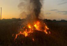 Photo of Capaccio Paestum, incendio in località Fuscillo