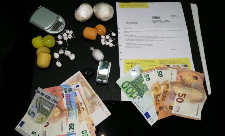 Photo of Deteneva droga e percepiva il reddito di cittadinanza, un arresto nel salernitano