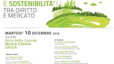Photo of Unisa, convegno Green Economy e sostenibilità