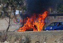 Photo of Agropoli, auto a fuoco alla foce del Testene