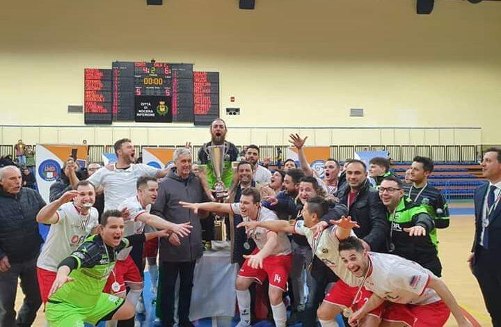 Photo of Calcio a 5: Sporting Sala Consilina, arriva la  promozione in Serie B