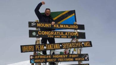 Photo of Cilentano conquista la vetta del Kilimanjaro