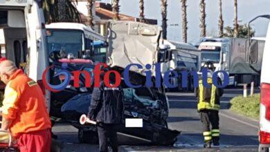 Photo of Grave incidente stradale a Ponte Barizzo, tra Capaccio ed Eboli