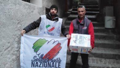 Photo of Solidarietà Nazionale consegna alimenti alle famiglie in difficoltà del Golfo di Policastro