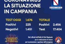 Photo of Coronavirus: oggi 225 tamponi positivi in Campania