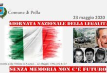 Photo of Polla ricorda i caduti della strage di Capaci