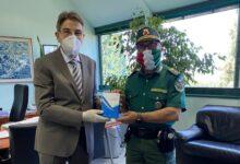 Photo of Donato termometro ad infrarossi al Tribunale di Vallo