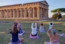 Photo of Torna lo yoga nell'area archeologica di Paestum