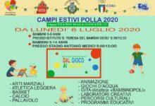 Photo of Polla: lunedì al via i Campi Estivi