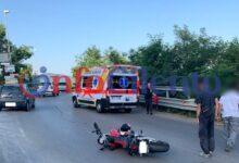 Photo of Agropoli, scontro tra moto e furgone: un ferito