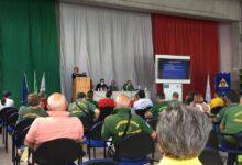 Photo of Giovanni Marzucca a capo del Gruppo Lucano di protezione civile della provincia