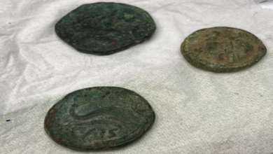 """Photo of A Paestum """"pentito"""" anonimo consegna 3 monete romane"""